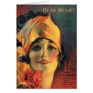 Dear Heart Greeting Card