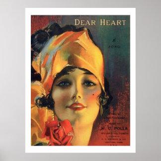 Dear Heart Posters
