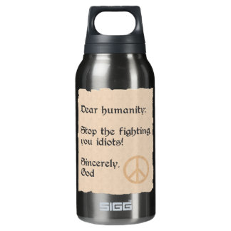 Dear Humanity custom Insulated Water Bottle