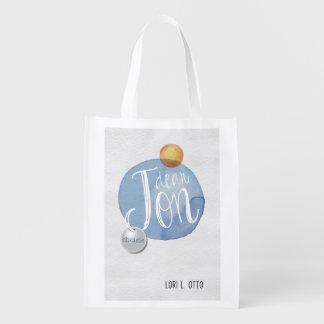 Dear Jon book cover Reusable Grocery Bag