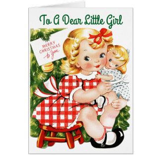 Dear Little Girl Card
