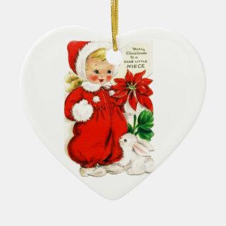 Dear Little Niece Christmas Ornament