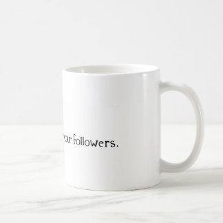 Dear Lord, Protect Me From Your Followers Basic White Mug