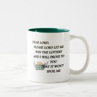DEAR LORD Two-Tone COFFEE MUG