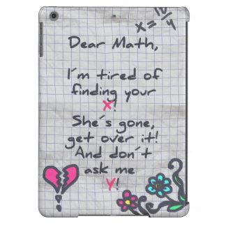 Dear Math Cover For iPad Air