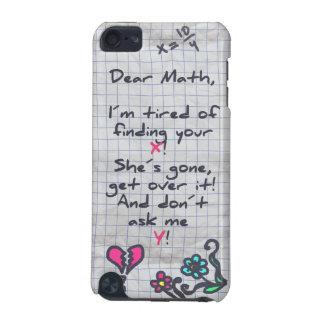 Dear Math iPod Touch 5G Covers