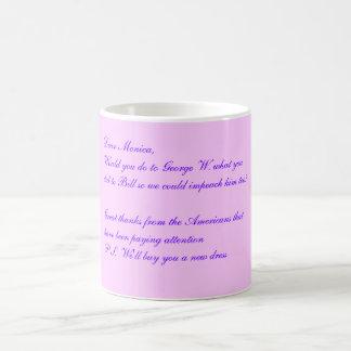 Dear Monica, Morphing Mug