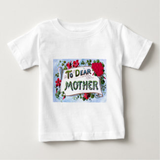 Dear Mother Spring Flowers Mother's Day Card T Shirt