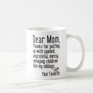 Dear Mum [Siblings Version] Coffee Mug