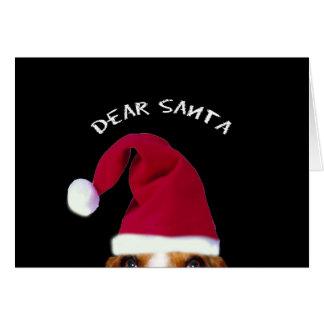 Dear Sant, I can explain...... Greeting Card