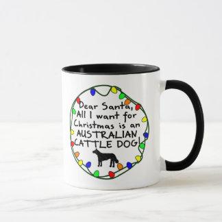 Dear Santa Australian Cattle Dog