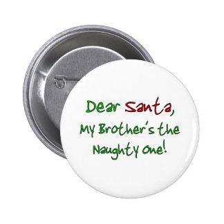 Dear Santa Pinback Buttons