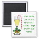 Dear Santa Christmas Magnet
