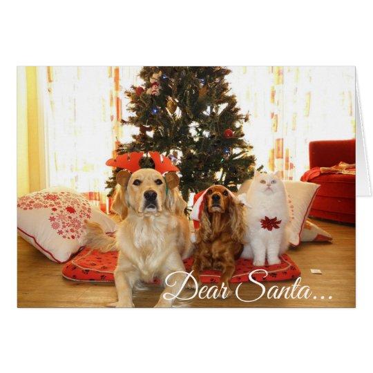 Dear Santa, Define Naughty Funny Christmas Card