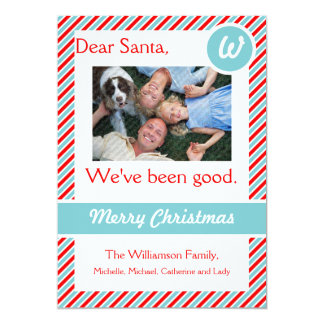 Dear Santa Holiday Photo Card 13 Cm X 18 Cm Invitation Card