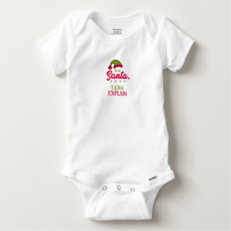 Dear Santa, I Can Explain Baby Onesie