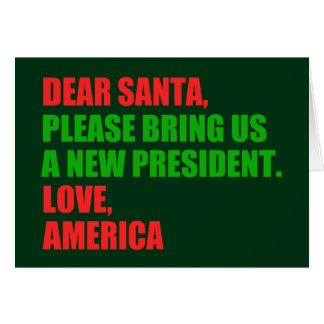 Dear Santa Impeach Trump for Christmas Card