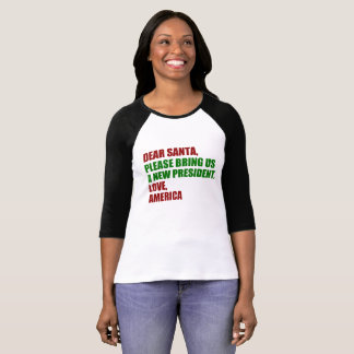 Dear Santa Impeach Trump for Christmas Funny T-Shirt