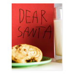 Dear Santa Milk and Cookies Christmas