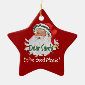 Dear Santa Ornaments