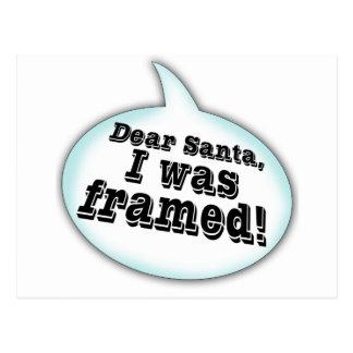 Dear Santa... Postcard