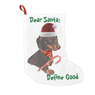 Dear Santa: Small Christmas Stocking