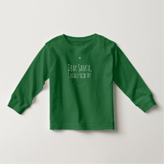 Dear Santa Toddler T-Shirt