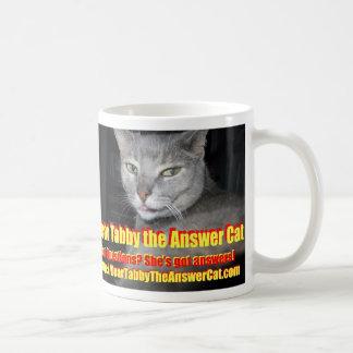 Dear Tabby Classic White Coffee Mug