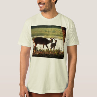 Dear / White-tailed Deer and Fawn T-Shirt