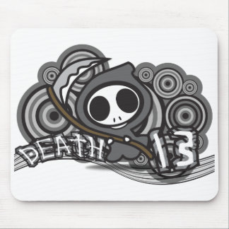 Death_13 Mouse Pad
