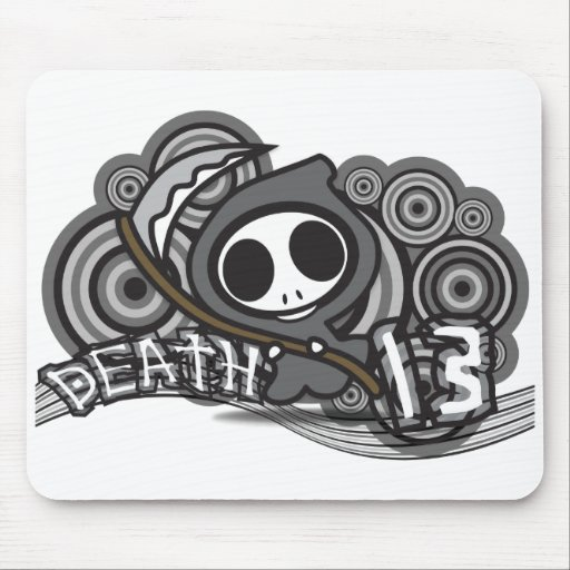 Death_13 Mouse Pad