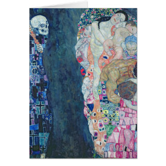 Death and Life, c.1911 (oil on canvas) Card