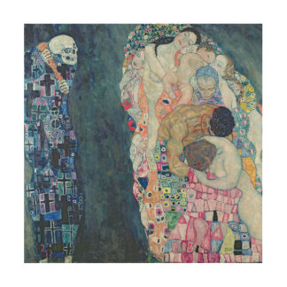 Death and Life, c.1911 (oil on canvas) Wood Prints