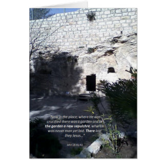 Death and Resurrection of Christ - greeting card