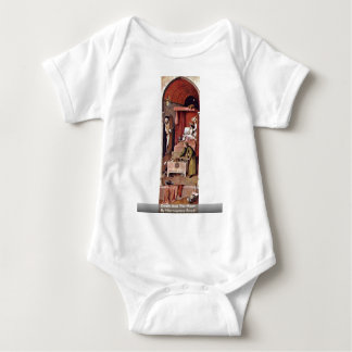 Death And The Miser. By Hieronymus Bosch Baby Bodysuit