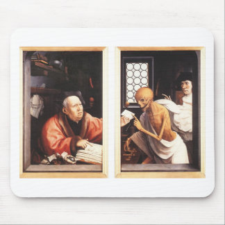 Death and the Miser by Jan Provoost Mouse Pad