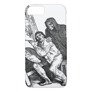 Death and the Painter iPhone 7 Case