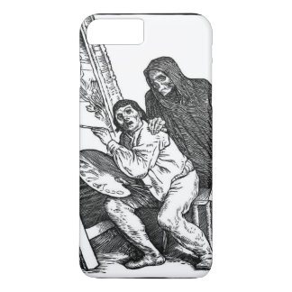 Death and the Painter iPhone 7 Plus Case