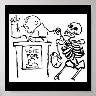 Death and the Politician. circa 1951 Poster