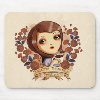 Death before Decaf Mouse Mat