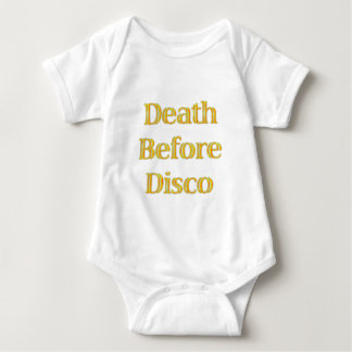Death-Before-Disco T Shirts