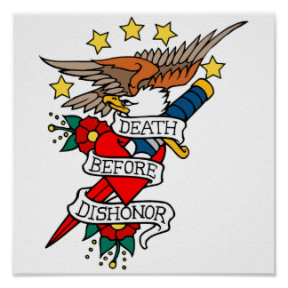 Death Before Dishonor Posters