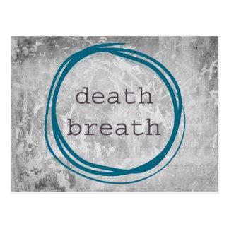 Death Breath Funny Postcard