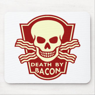 Death By Bacon 02 Mouse Pad