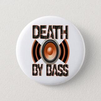 DEATH by BASS 6 Cm Round Badge
