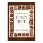 Death by Chocolate Bunco Party Invitation