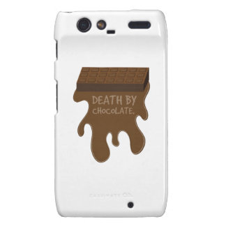 Death By Chocolate Droid RAZR Covers