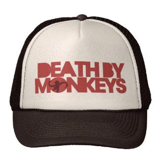 Death by Monkeys Mesh Hat