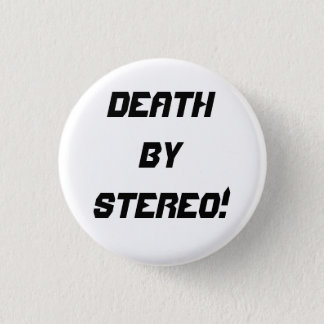 Death By Stereo! 3 Cm Round Badge