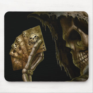 death cards mouse mat